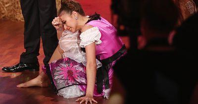 Schock-Moment beim Finale von Let's Dance!