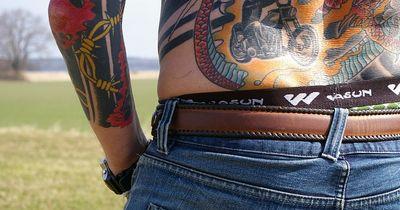 Dieser Mann hat ein verrücktes Tattoo
