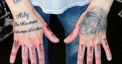 Mann will sich 29 Miley Cyrus Tattoos entfernen lassen