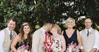 Das verrückteste Hochzeitsfoto des Jahres