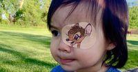 Ihr Vater erschafft jeden Tag ein kleines Kunstwerk für sie