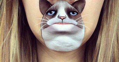Die witzigsten Schminkbilder für's Gesicht