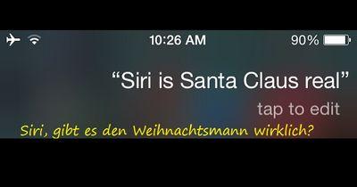 Frag Siri! Das sind ihre besten Antworten