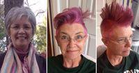 Frau verliert trotz Krebs nicht den Spaß