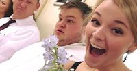 Selfie nach Brautstrauß-Fangen sorgt für Shitstorm