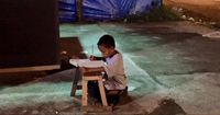 Ein kleiner Junge dient Tausenden als Inspiration