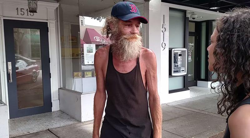 Dieser Obdachlose begeistert gerade das gesamte Internet!