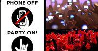 Clubbetreiber fordern Verbot von Smartphones!