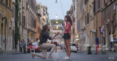 Der berührendste Heiratsantrag aller Zeiten!
