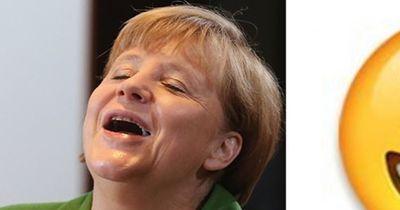 Der Beweis - Angela Merkel ist eigentlich ein Emoji!