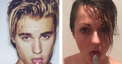 Diese Frau imitiert den Instagram-Wahnsinn der Stars