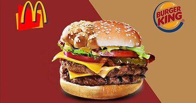 Der McWhopper: Produzieren McDonalds und Burger King nun einen gemeinsamen Burger?