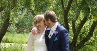 Bräutigam überrascht Braut mit geheimer Nachricht