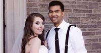 Bei ihrer Hochzeit war klar, dass die beiden sich trennen müssen