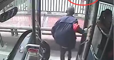 Busfahrer bewahrt Frau vor Selbstmord
