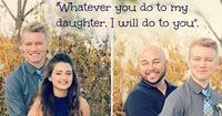 Vater posiert mit Freund der Tochter - Doch witzig ist es nicht