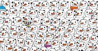 Schaffst du es, den Panda in diesem Bild zu finden?