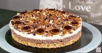 SO könnt ihr eure eigene cremige Toffifee-Torte machen! OHNE BACKEN!