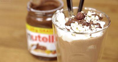NUTELLA MILCHSHAKE - schnell, simpel und extrem lecker!