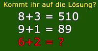 Kommt ihr auf die Lösung der letzten Rechnung? Wie wurde hier gerechnet?
