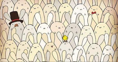 Osterrätsel - findest du das Ei?