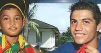 Tsunami-Überlebender wurde zum Patenkind Ronaldos!