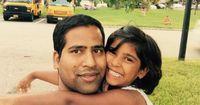 Selfie mit Tochter für eine bessere Welt