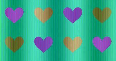 Verrückte Illusion: Haben diese Herzen in Wahrheit dieselbe Farbe?