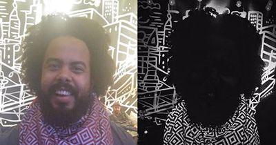 Durch diesen Schal wirst du auf Fotos unsichtbar