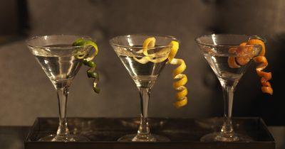 Was ist die Martiniglas-Position?