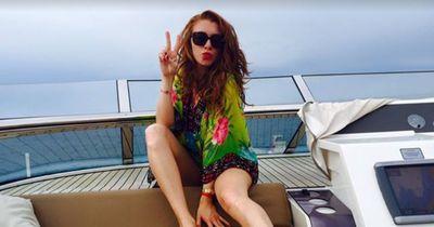 Georgina Fleur im Luxusrausch