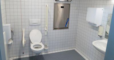 Wenn du DAS auf öffentlichen Toiletten siehst, solltest du sofort die Polizei rufen!