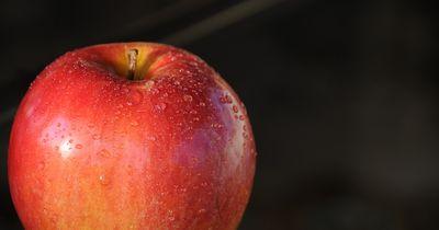 Darum solltest du immer heißes Wasser über einen Apfel gießen: