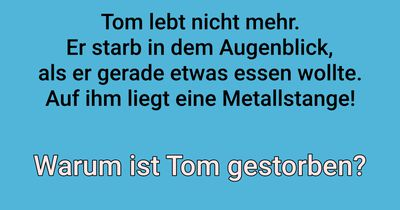 Warum ist Tom gestorben?