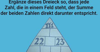 Das Lücken-Dreieck