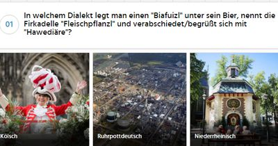 Wie gut kennst du die deutschen Dialekte?