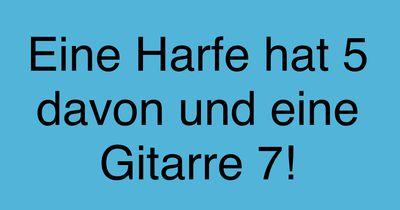 Gitarre und Harfe!