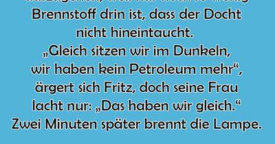 Die Petroleumlampe