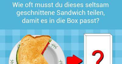 Das seltsame Sandwich