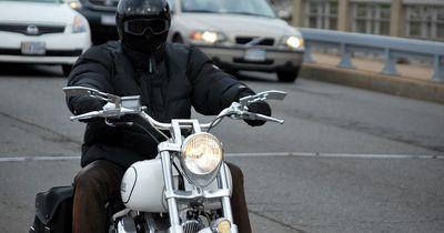 Biker Luc Perreault mit ergreifender Botschaft