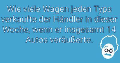 Der Gebrauchtwagenhändler