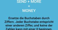 SEND MORE MONEY