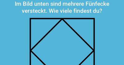 Finde das Fünfeck