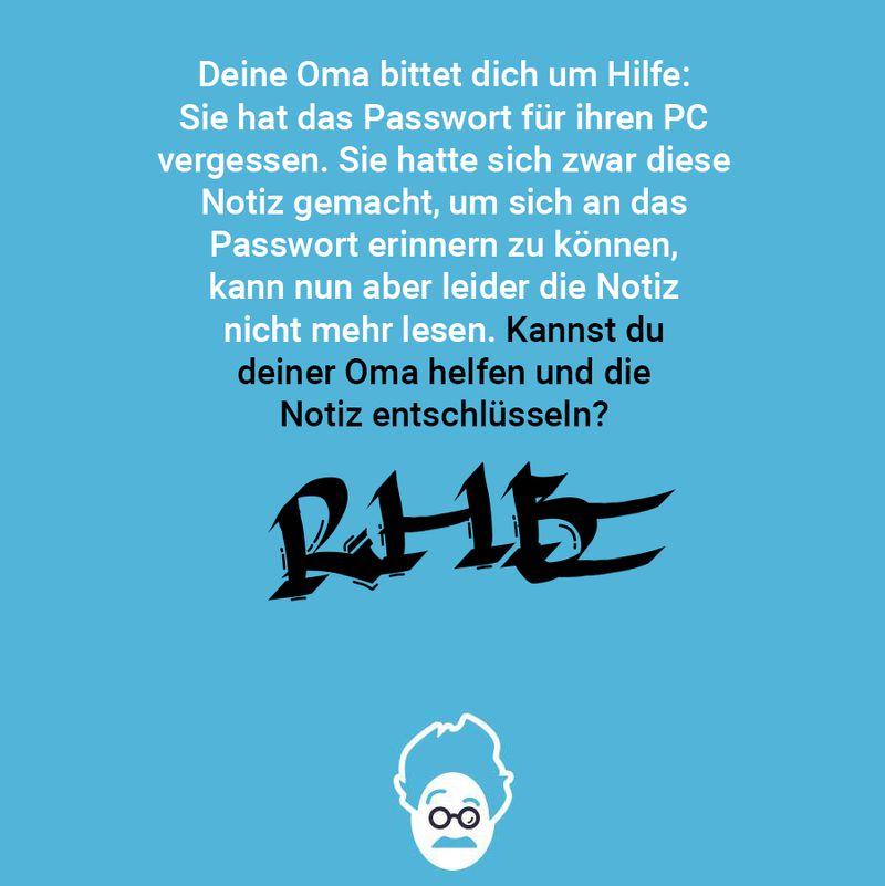 Omas Passwort