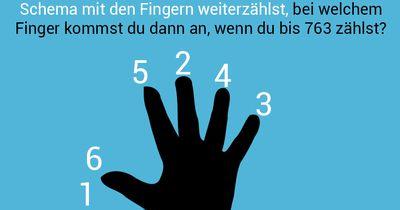 Bei welchem Finger landest du?
