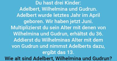 Multiplizierte Kinder
