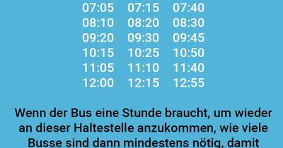 Busbedarf