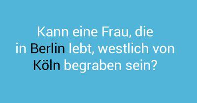 Berlin und Köln