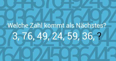 3, 76, 49, 24, 59, 36, 44