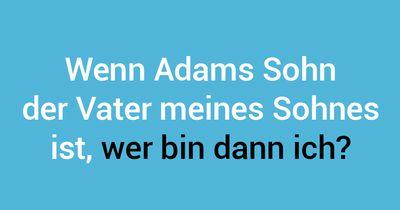 Adams wirre Familie